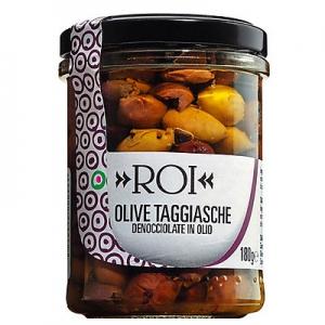 Taggiasca Oliven entkernt in nativem Olivenöl extra, 180 g