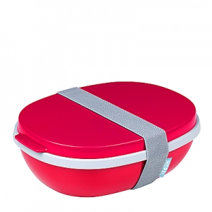 Lunchbox Ellipse Duo – Nordic Red
