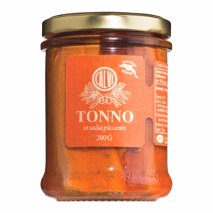 Tonno piccante – pikanter Thunfisch mit Chiliöl von Calvi, 200 g