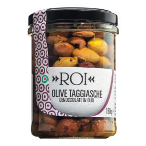 Olio Roi Taggiasca Oliven entkernt in nativem Olivenöl extra, 180 g